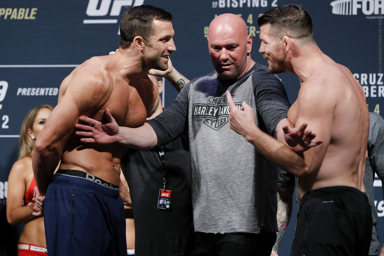 community news, Luke Rockhold wants rematch with 'coward' Michael Bisping, title or not