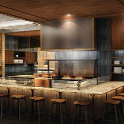 Earls Kitchen + Bar rendering