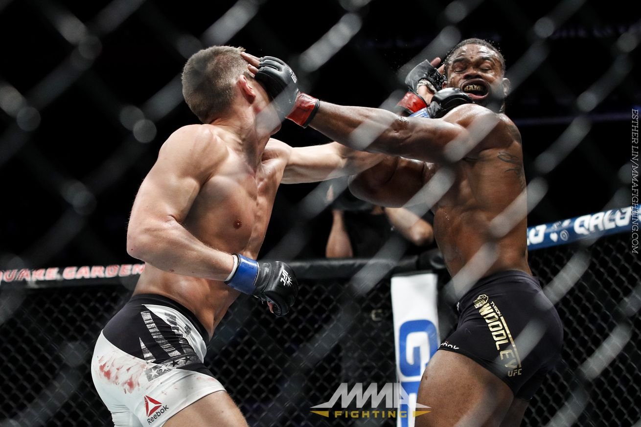 Image result for tyron woodley vs stephen thompson
