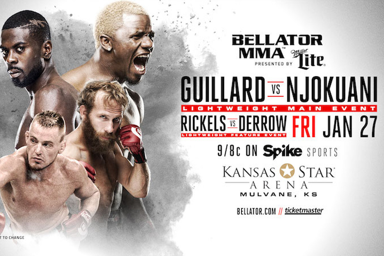 Bellator 171 results: LIVE Guillard vs Njokuani streaming play by play updates TONIGHT on Spike TV