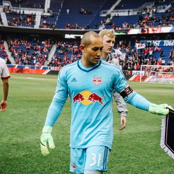 Luis Robles takes the armband for RBNY vs RSL