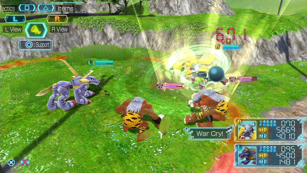 Digimon Next Order combate
