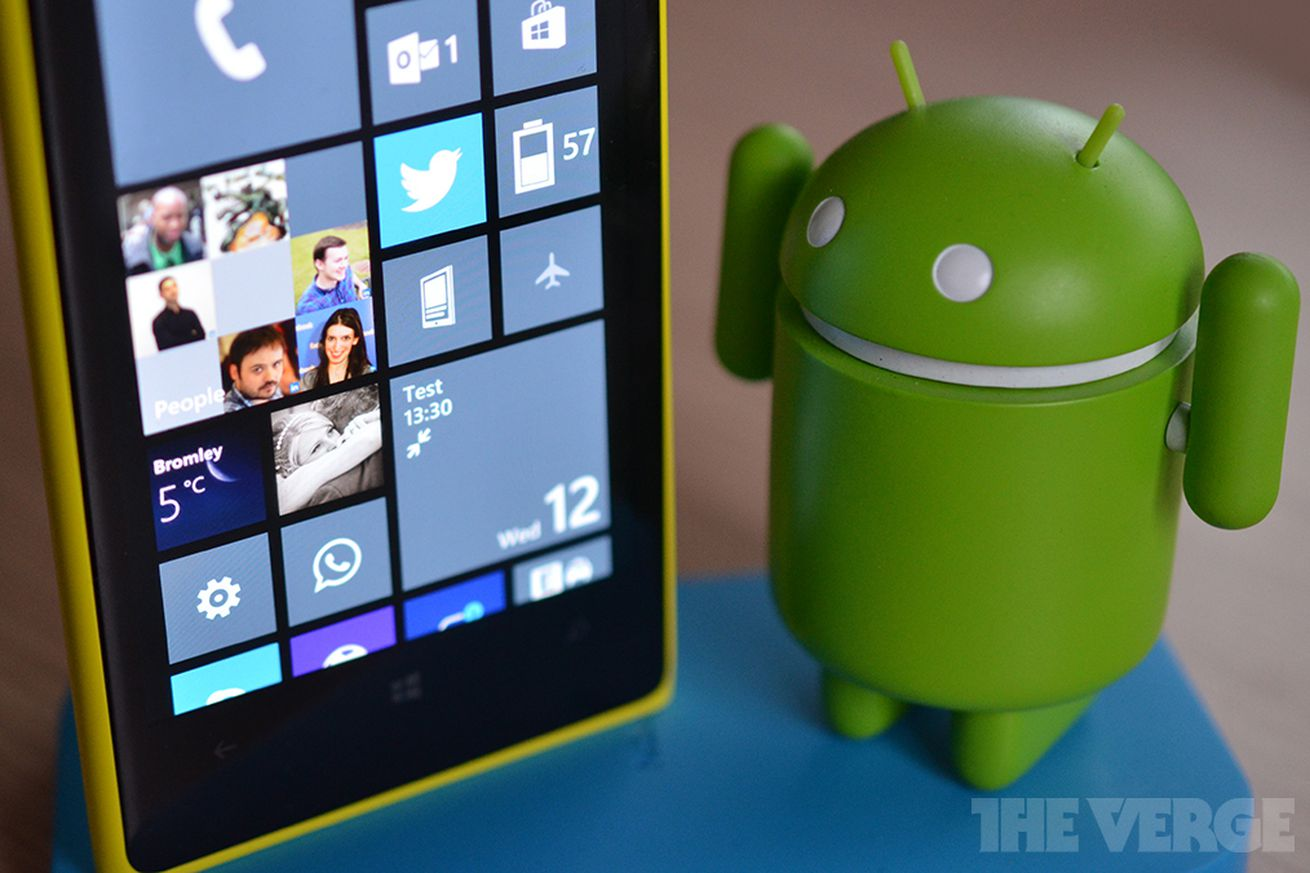 Phone Can A Windows Phone Run Android Apps windows 10 can run reworked android and ios apps the verge