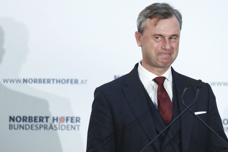 Norbert Hofer Holds Final Presidential Election Campaign Rally