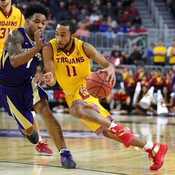 """USC: The Trojans will play in the """"First Four"""" in the East Region, against fellow #11 seed, Providence."""