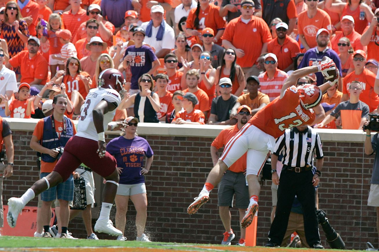 Clemson overcomes McCloud's ball flip to hold off Troy 30-24