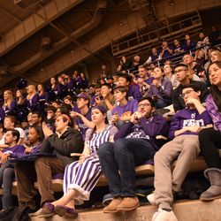 With every non-Northwestern team called, students grew more and more uneasy.
