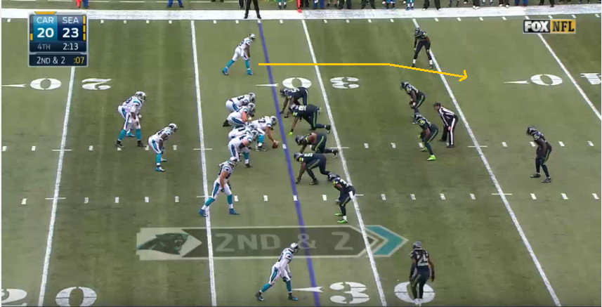 Nike jerseys for wholesale - Film Analysis: The Panthers game-winning drive against the ...