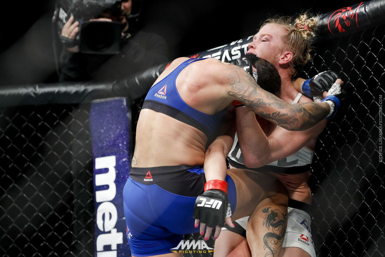 community news, Holly Holm believes Germaine de Randamie's punches after the bell were 'intentional'