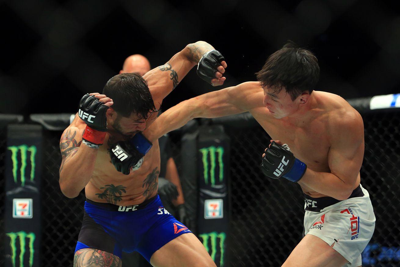 Midnight Mania!  Doo Ho Choi vs. Andre Fili announced for UFC 214