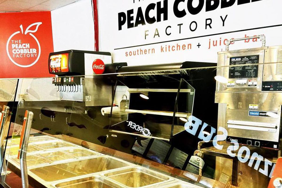 Peach Kitchen Peach Cobbler Factory Opens Southern Kitchen In Sobro Pizza