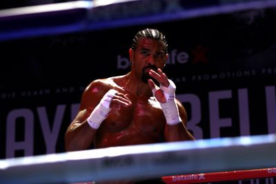 David Haye vs Tony Bellew Media Work Out