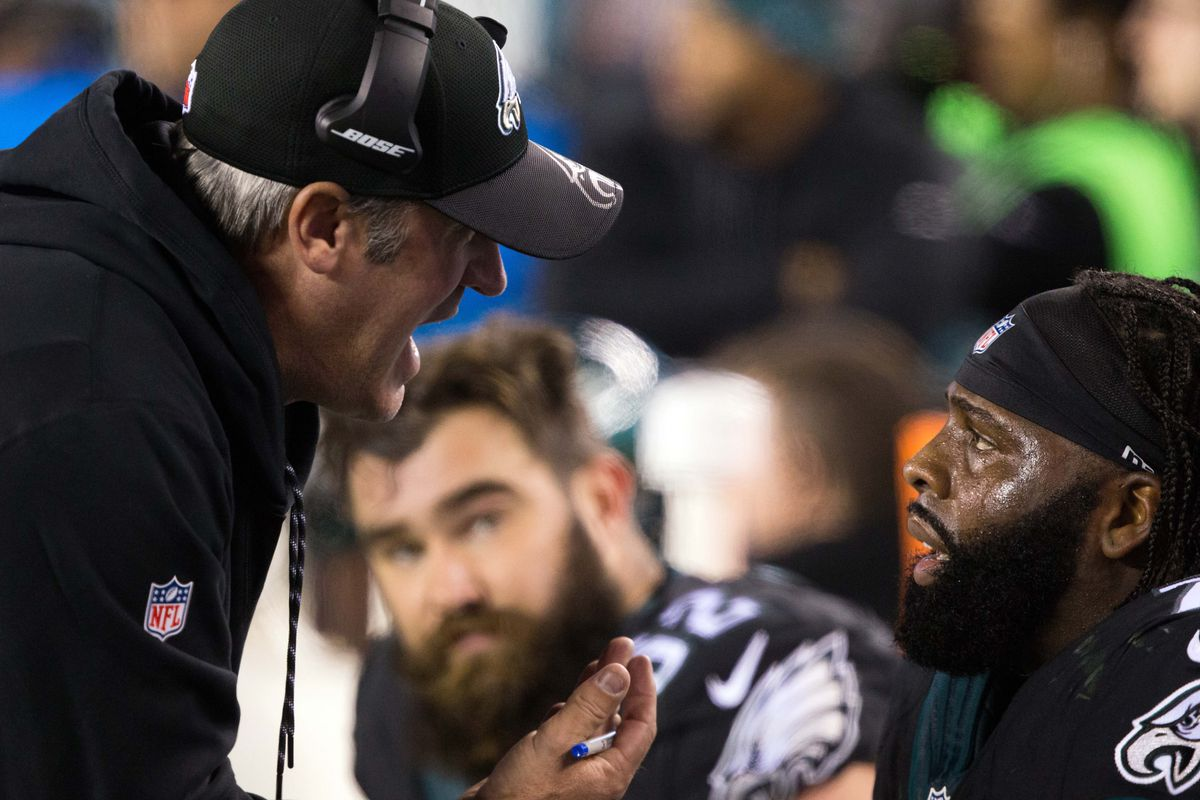 doug pederson needs to calm down and run the ball bleeding green run the ball more doug everyone else does