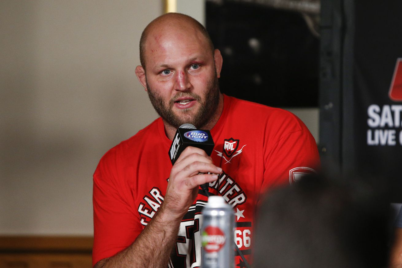 community news, Ben Rothwell says accepting Junior dos Santos fight was 'strategically stupid'