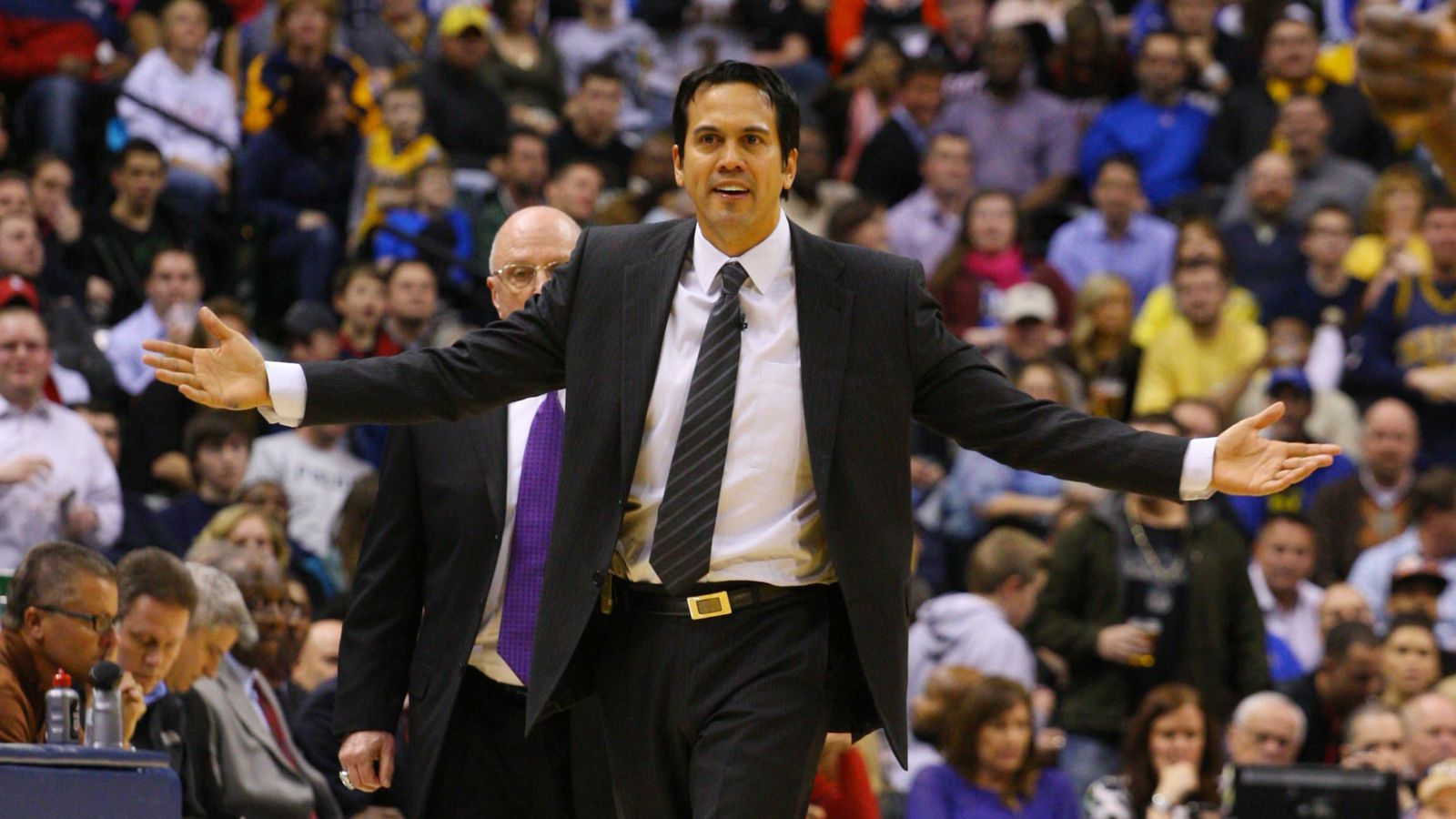 erik spoelstra named eastern conference coach for 2013 nba. Black Bedroom Furniture Sets. Home Design Ideas