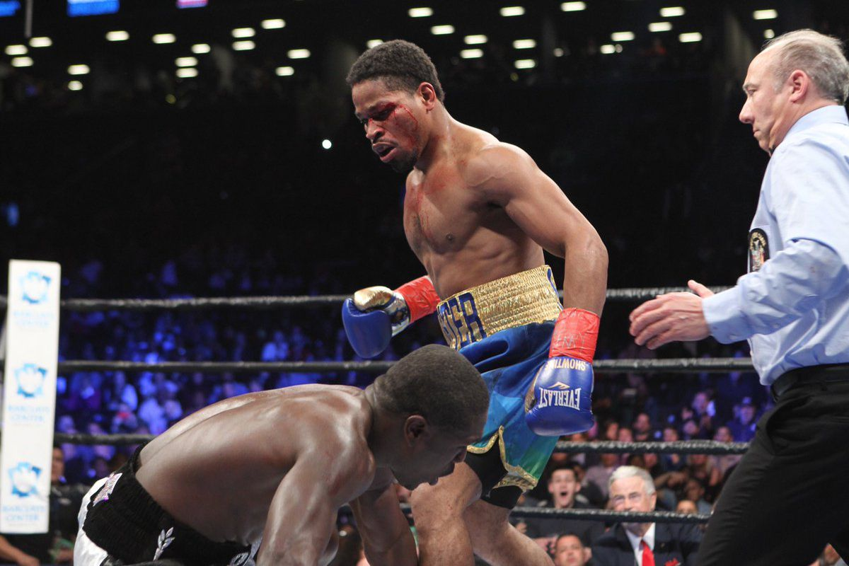After lengthy layoffs, Porter and Berto get it on Saturday