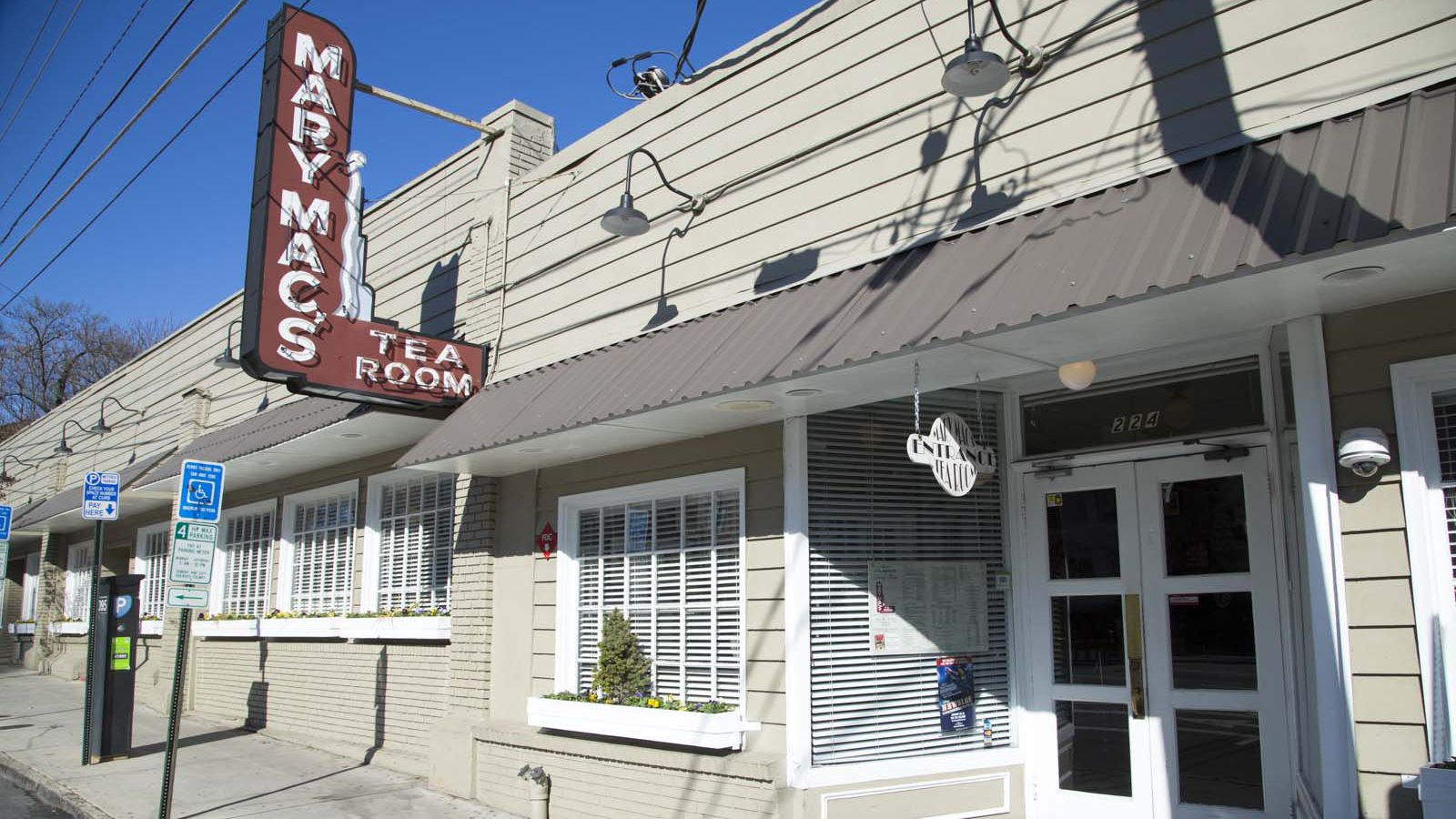 Mary S Tea Room Portland Menu