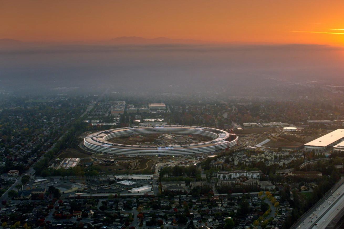 apple s spaceship campus apple park opens in april