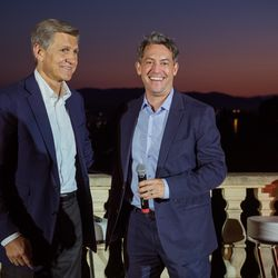From left, Marc Pritchard (Procter & Gamble, Chief Brand Officier) and Jim Bankoff (Chairman & CEO, Vox Media) discuss brand safety and going deeper with high fidelity advertising.