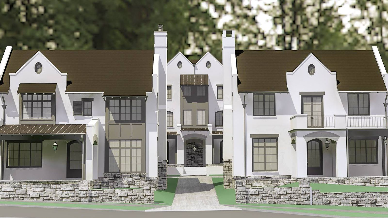 In Atlantas Ansley Park Sprawling Century Old Houses To