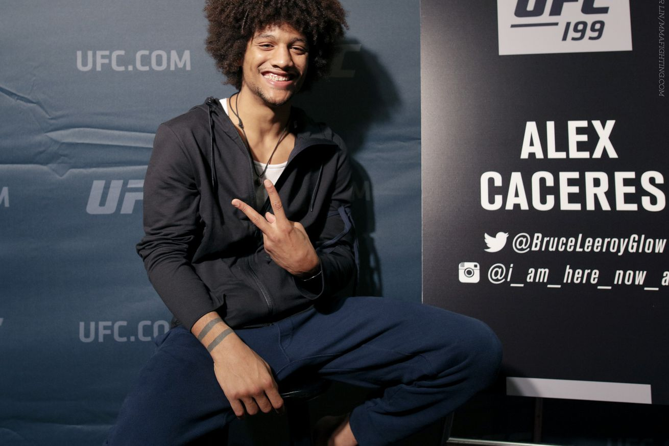 community news, Alex Caceres says its obvious who theyre trying to promote leading up to UFC Fight Night 92