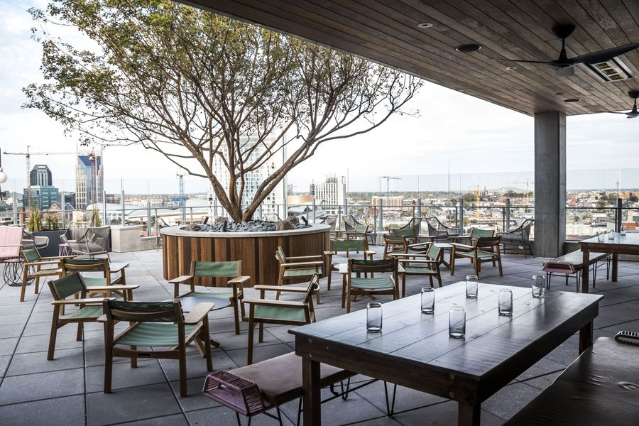 Take A First Look At L A Jackson The Rooftop Bar