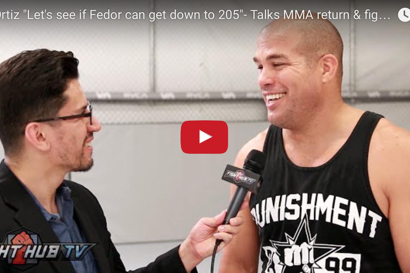 community news, Tito Ortiz: Bellator came to me with Fedor Emelianenko fight, but I want it at 205 pounds