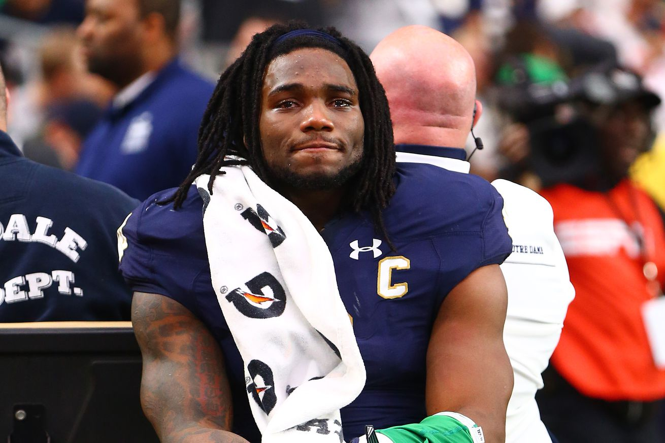 NFL Jerseys Sale - The Dallas Cowboys Select Jaylon Smith In The Second Round Of The ...
