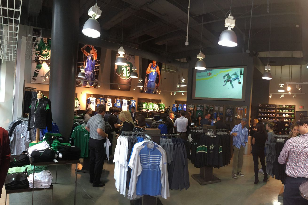 Dallas Stars Daily Links Stars Unveil New Fan Shops At