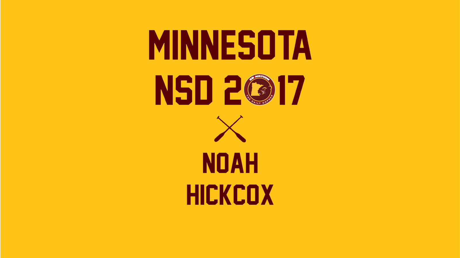 Minnesota Football Recruiting: DE Noah Hickcox signs ...