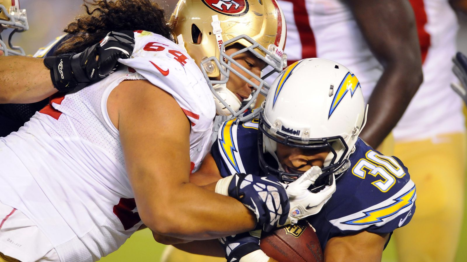 Jerseys NFL Online - 49ers position battle: Can Mike Purcell supplant Tony Jerod-Eddie ...