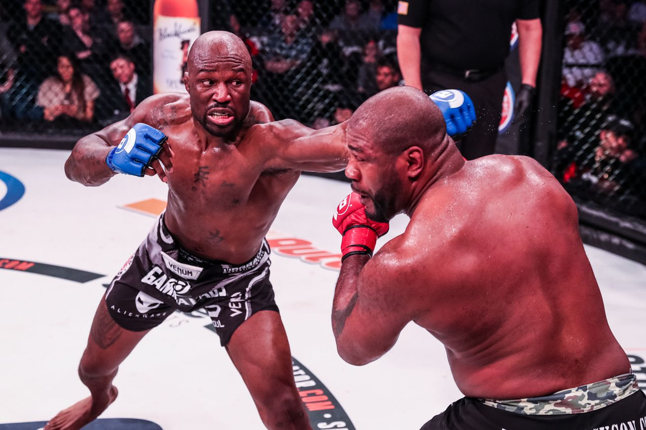 community news, Bellator 175 results: 'King Mo' Lawal wins rematch over Quinton 'Rampage' Jackson