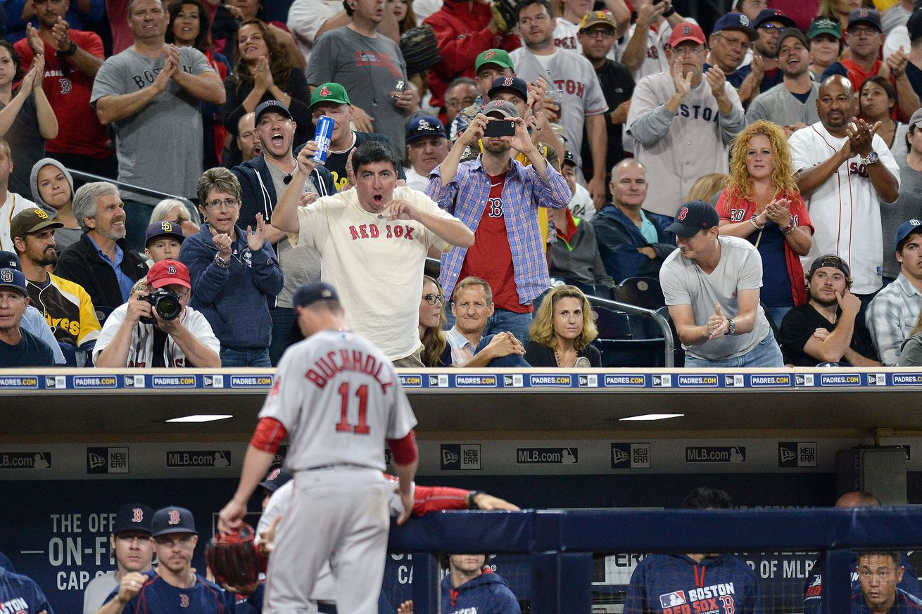 San Diego Padres vs. Boston Red Sox