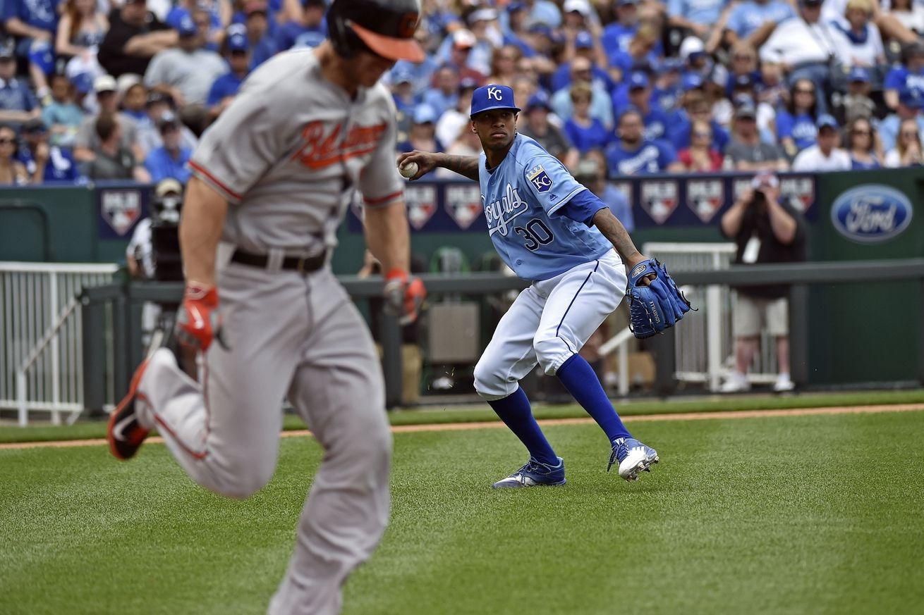 Moustakas has HR, 4 RBIs, Royals finish sweep of Orioles