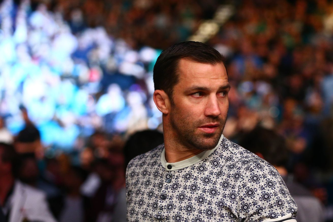 Luke Rockhold will fight Ronaldo 'Jacare' Souza to headline UFC Melbourne