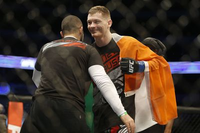 community news, Gutted Joe Duffy issues formal apology for UFC Dublin withdrawal, trainer details recent concussion suffered in training