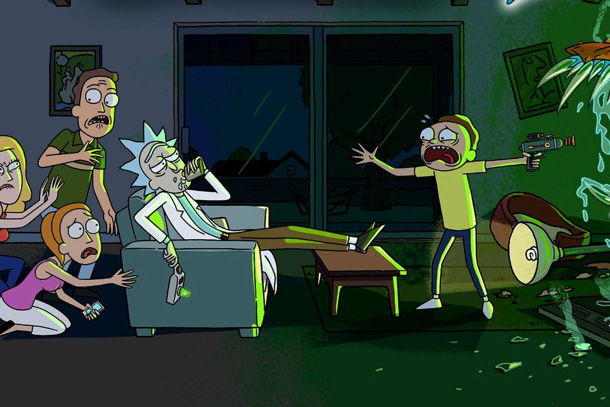 Rick and Morty is back with surprise airing of season 3 premiere