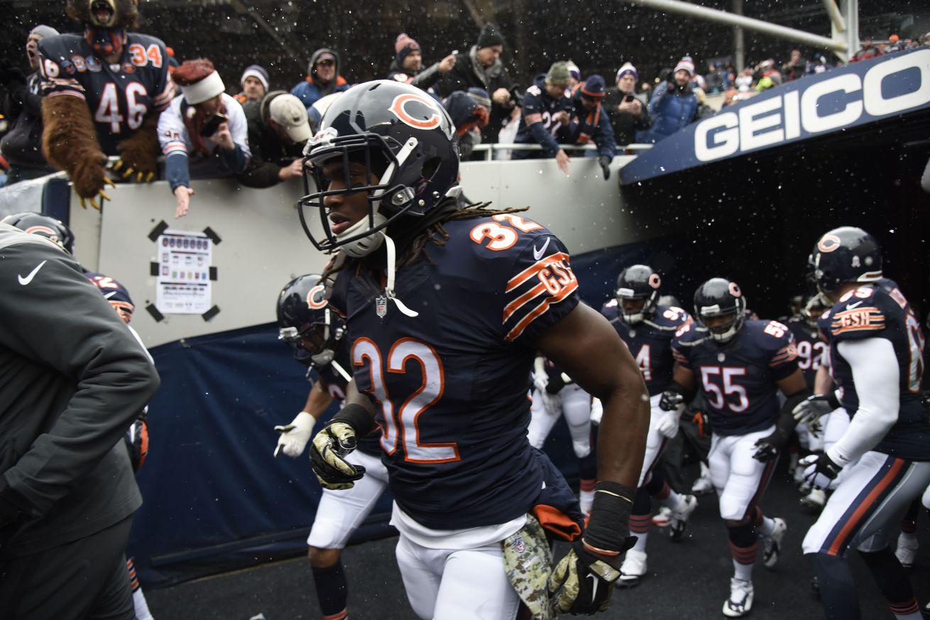 Chicago Bears Senorise Perry GAME Jerseys