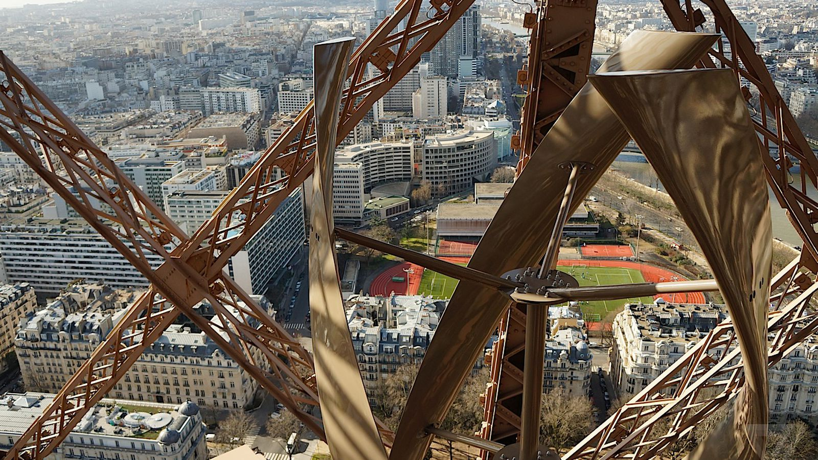 the eiffel tower has new wind turbines and they re beautiful the eiffel tower has new wind turbines and they re beautiful the verge