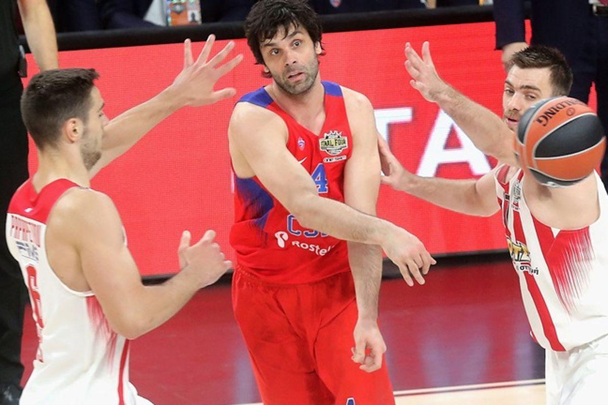 Russia's CSKA Moscow earns bronze at Basketball EuroLeague 2017