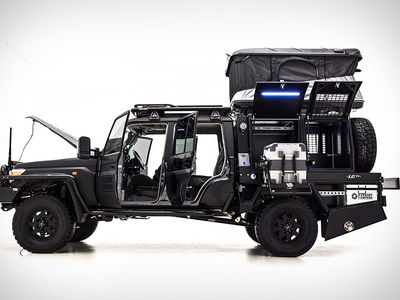Burly adventure camper is prepped to go off-grid
