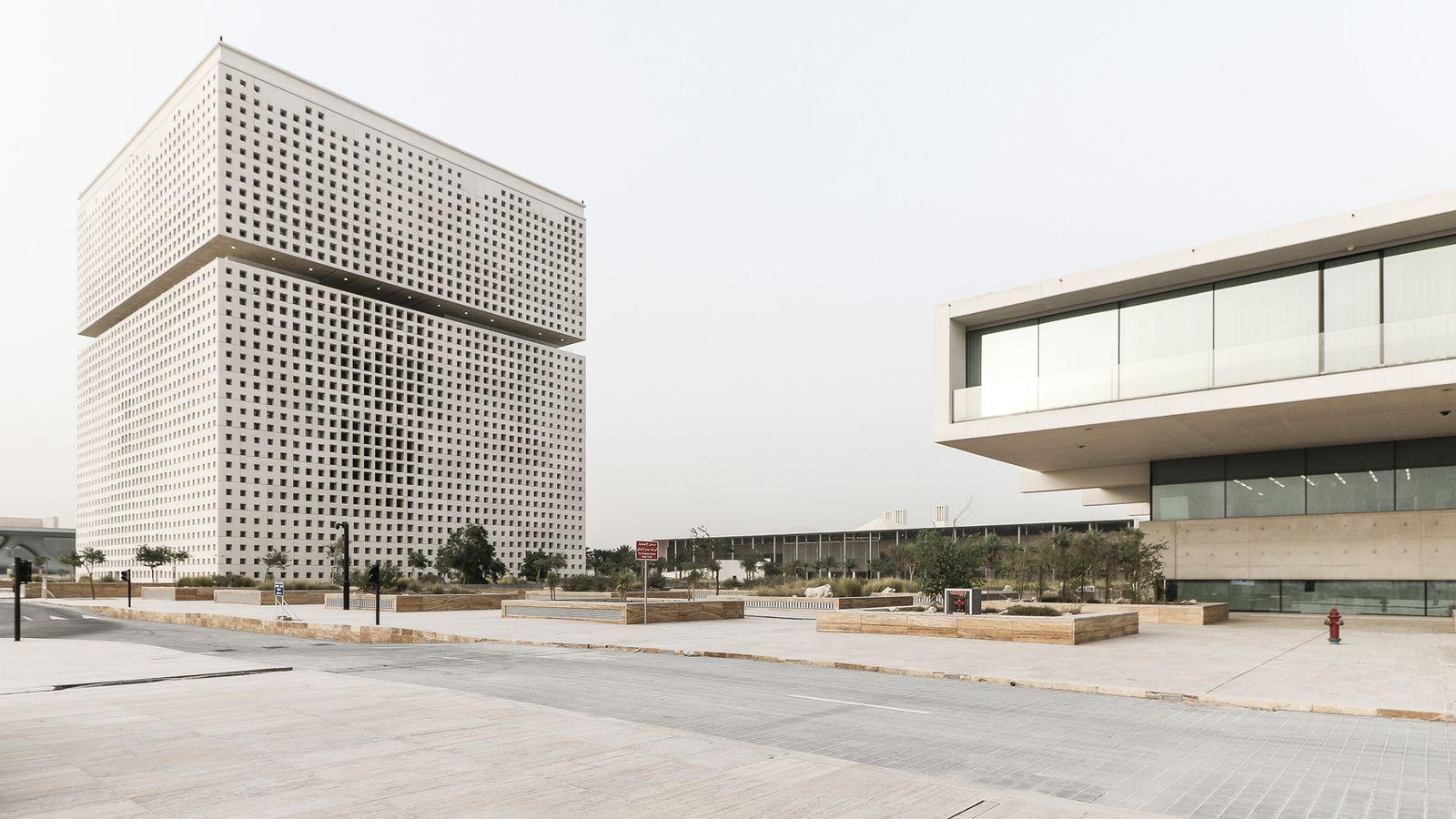 Oma Designed Qatar Foundation Unveiled In New Photos Curbed