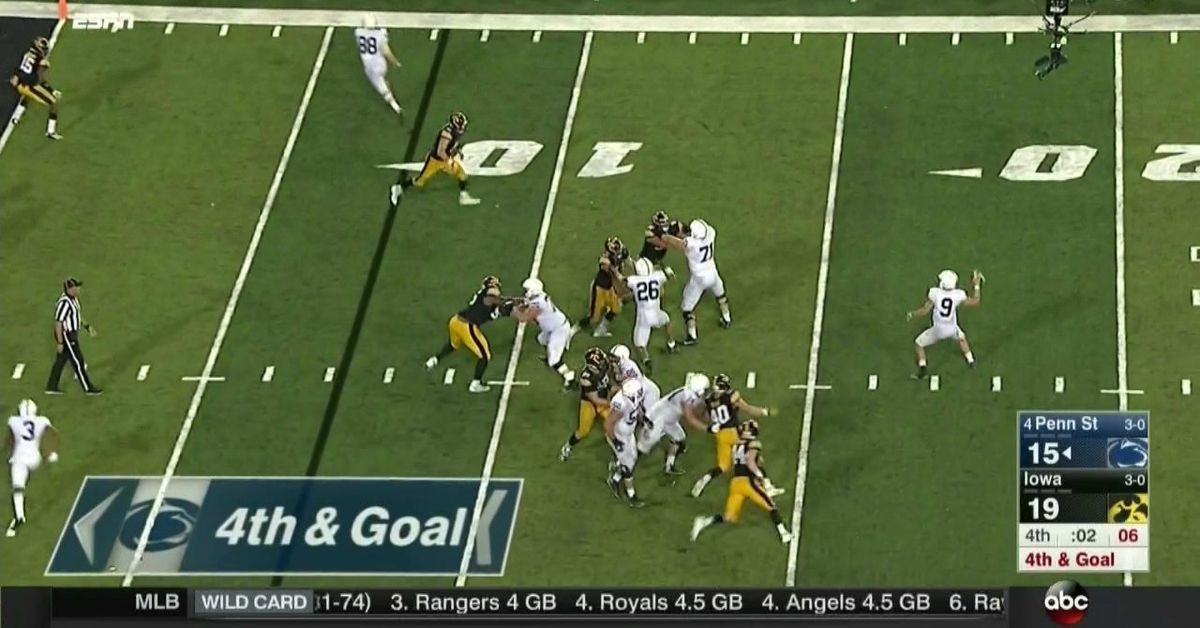 Penn State Vs Iowa 2017 Video How PSUs Game Winning TD