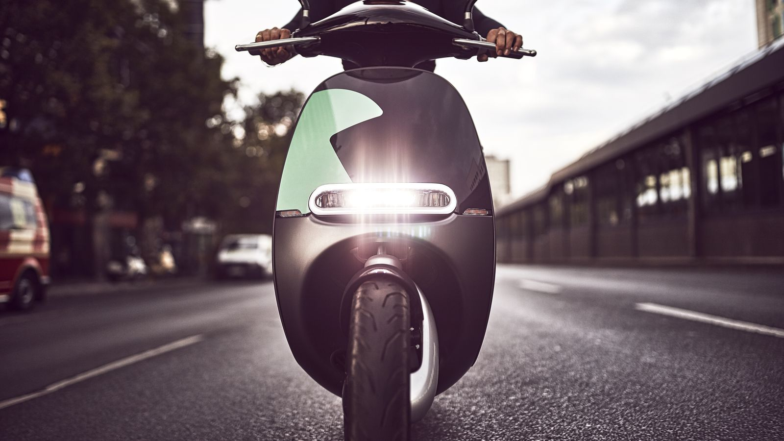gogoro starts an electric scooter sharing program in berlin the verge. Black Bedroom Furniture Sets. Home Design Ideas