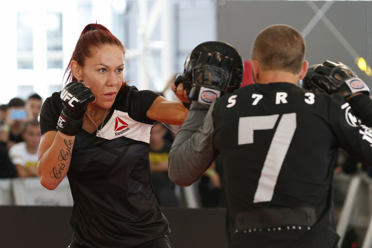 Cris Cyborg punches Angela Magana in street altercation