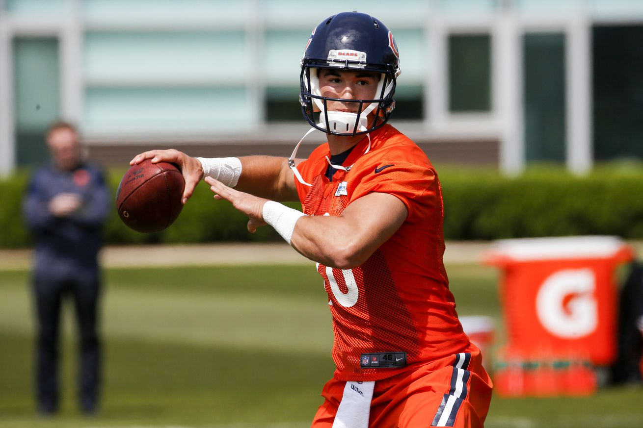 Mitchell Trubisky's a huge project. The Bears know there are winding turns ahead