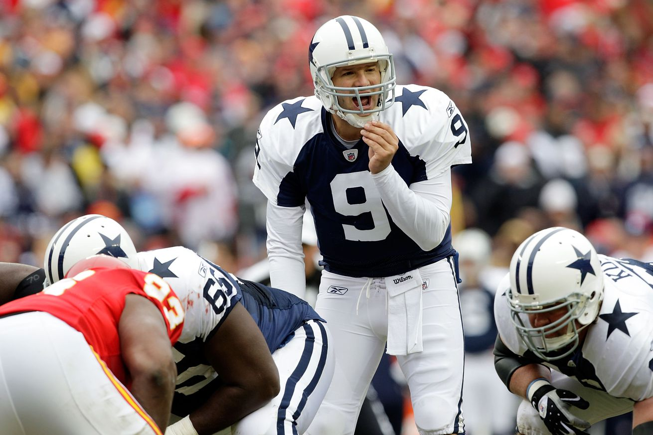 Chiefs, Tony Romo chatter continues