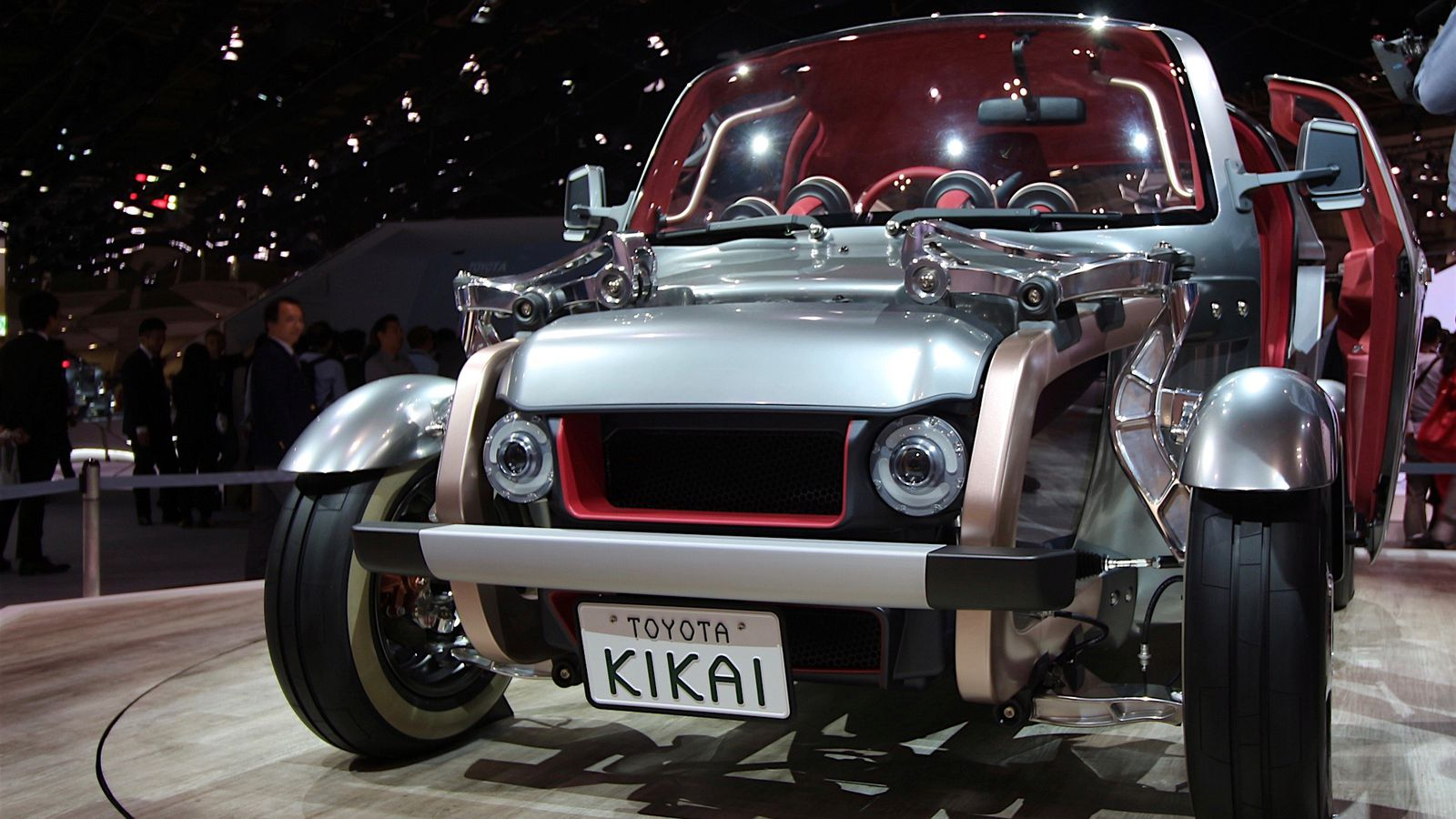Toyota's radical Kikai concept is the anti-connected car