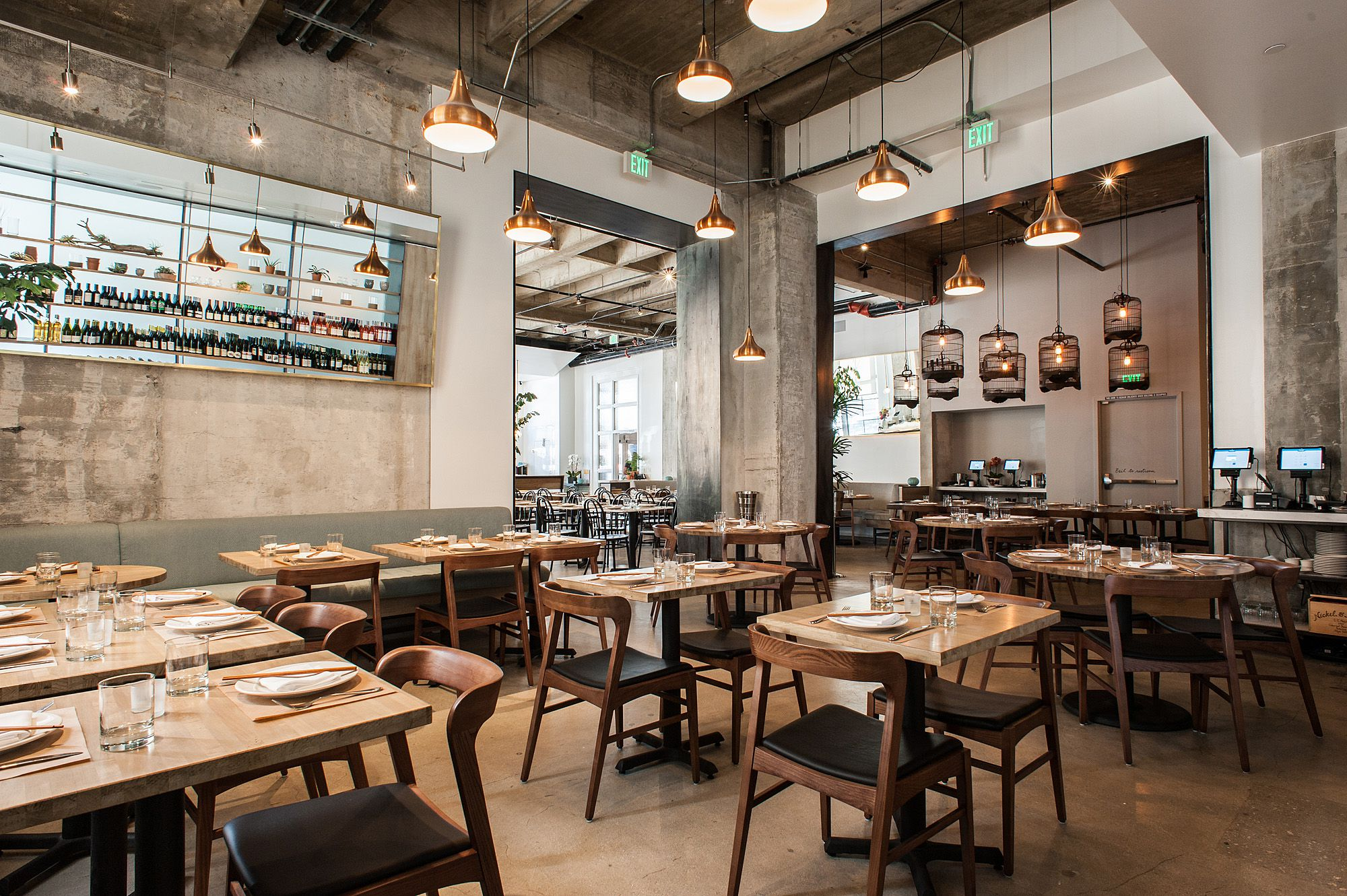 Los angeles restaurants with the most stunning design for Restaurant design