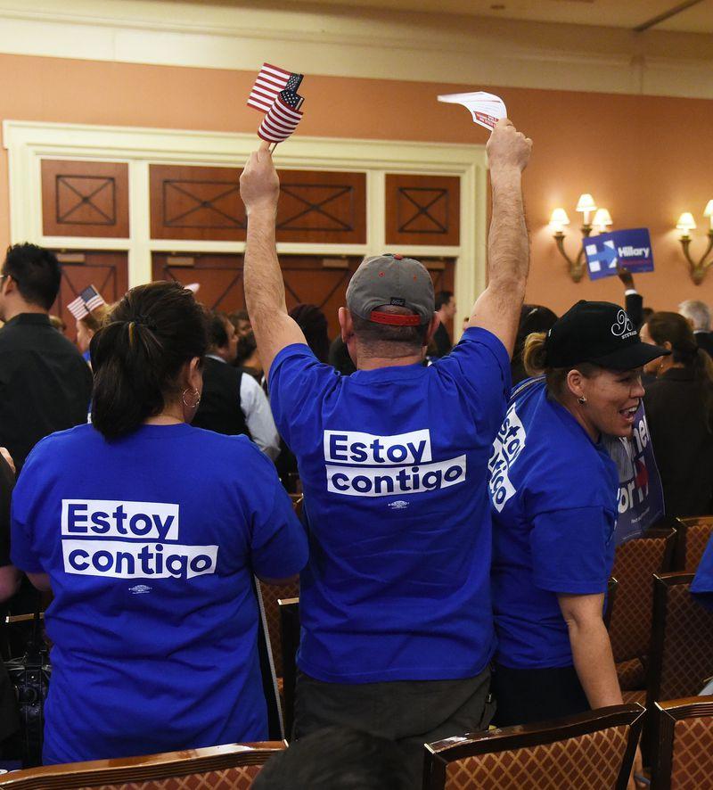 Nevada Hosts Its Democratic Caucus